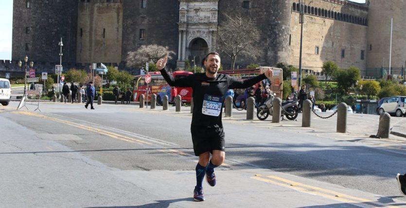 Napoli running maschio angioino